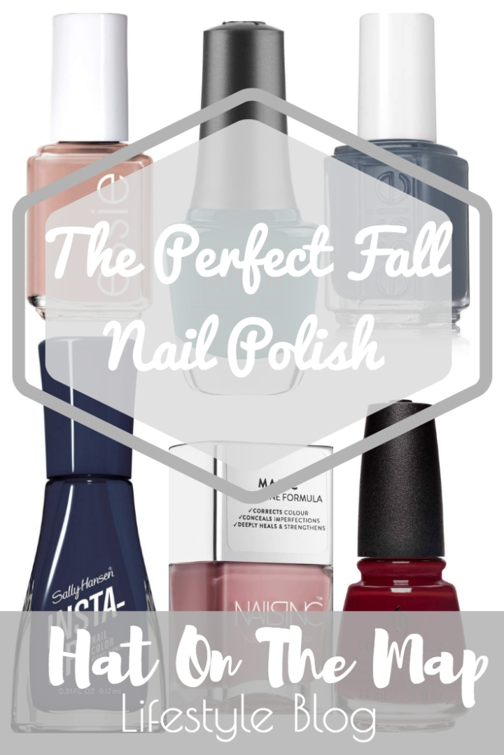 The Perfect Fall Nail Polish Colors